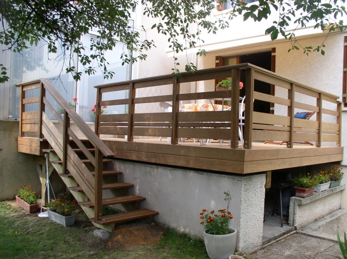 - Amenagement terrasse en hauteur ...
